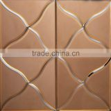 ultra clear beveled edge mirror tile