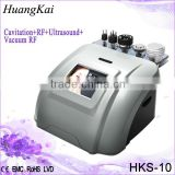 Huangkai Cavitation Rf Vacuum Therapy Ultrasound Fat Reduction Machine Machine For Massage Body Slimming Machine