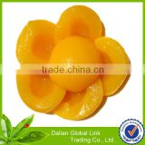new crop canned yellow peach halves slice dice