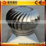 Wind Drive Roof Exhaust Fan / Roof Mounted Industrial Exhaust Fan With Price For Hot Sale