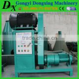 high density small volume with a hole jute stick charcoal machine