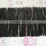 Dyed Black Bamboo Wall Covering