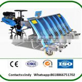 6 row diesel riding type rice transplanter