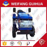 2015 hot sales 18 hp - 24 hp blue electric starting multi-purpose farm mini tractor with avaliable implement