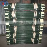 heavy duty green painted steel fence T-Post for wire mesh