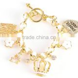 exquisite charm bracelet for young lady