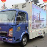 SINOTRUK LED advertising mobile billboard truck for sale
