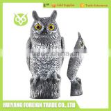 Half Piece PE Plastic Owl For Hunting