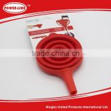 Silicone foldable funnel FDA LFGB kitchen tools