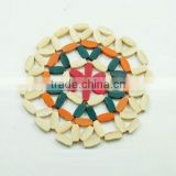 colorful woven bamboo placemat wholesale