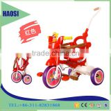 Good Toy Baby Tricycle Kids Ride On Car Hand Push Cart/Plastic Fold baby tricycle with push
