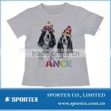girls cotton t shirt