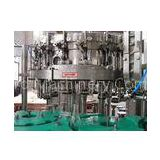 Rotary Glass Bottle Filling Machine for Fruit Juice / Soda , Electric Driven 220V / 380V 4Kw