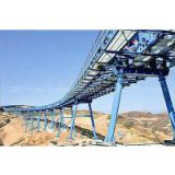 long-distance curved belt conveyor for coal mining
