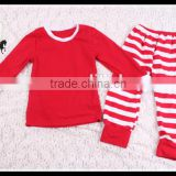 Bulk Wholesale kids plain pajamas or christmas pajamas from Yiwu Yawoo clothing manufacturers overseas.