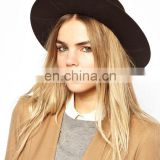 Ladies Formal Fashion Spring Wool Fedora Hat