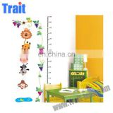 Nursery Room Kids Height Measurement Wall Sticker Growth Chart Animal Vinyl Decal