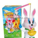 New design plastic battery operated bubble machine,bubble rabbit toy
