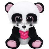 TY Plush toy Valentine's Panda big eyes cute stuffed soft plush toys