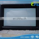 Outdoor inflatable movie screen/inflatable screen/inflatable projector screen