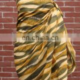Cheap 100% Cotton Beach Scarf for Promotion & Retail Sale