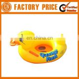 2017 Best Design High Quality PVC Inflatable Swim Ring Duck