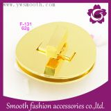 Metal Fashion Rotated Gold Plate Handbags Bag Lock Hardware Accessories