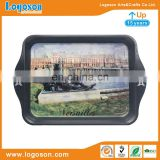 Cheap Wholesale Versailles Attractions Custom Logo Metal Plate Metal Tray Manufacturing Company