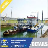 350 cube meter per hour work capacity of Cutter suction dredger