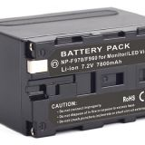Sony NP-F770, L-Series, Info-Lithium, Battery Pack NPF770