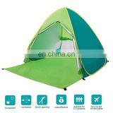 Automatic Pop Up Tent Sun Shelter Cabana 3 Person UV Protection Beach Shade for Outdoor Activities