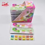 Fruits Colorful Assorted Flavors Chewing Gum
