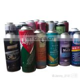 Hot sale diameter 52mm 65mm 320ml aerosol  tin can with spray paint   from Guangzhou