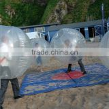 Inflatable belly bubble bump ball inflatable human bubble soccer ball belly suit for fun