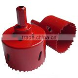 Bi Metal Hole Saw Built-in Arbor,Alloy Steel Body, M3 or M42 8% Cobalt Teeth Bi Metal Hole Saw,