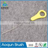 Synthetic Fiber Brush Material and Cleaning Function Baby Milk Bottle Straw Cleaning Brushes Tube Cleaner
