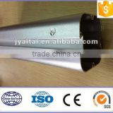 bright anodized sand blasting aluminium profile for decoration/auto roof rack