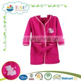 Hot selling top quality kids cheap bathrobes
