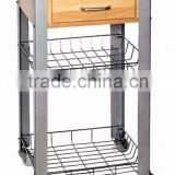 Rubber wood Kitchen furniture