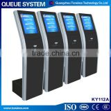 Automated Electronic Bank Queue Ticket Printing Kiosk Machine