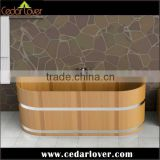 wooden portable for adults oval bathtub price