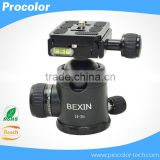 NEW tripod & accessories Mini 360 Degree Rotate Tripod Ball Head Pro Ballhead With Screw For Camera Flashlight