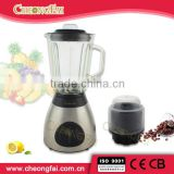 Stainless Steel housing and Glass jar blender