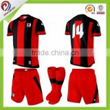 dry fit sublimated customized green and yellow soccer kits men                                                                         Quality Choice