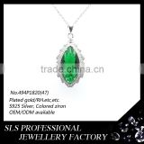To buy a best friend forever pendant to your best friend with gemstone 925 sterling silver pendants in Alibaba