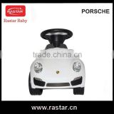 Rastar PORSCHE kids baby ride on stroller with CE