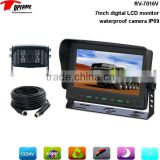 "RV-7016V 7 Inch reversing camera system with night vision camera& 7"" digital LCD monitor"