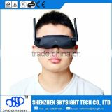 Skyzone SKY02 Diversity receiver V2 AIO head tracking and camera FPV 40CH 5.8G Built-in 3D/ 2D mode Goggles RC Toy Low shipping