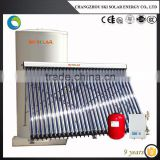solar power heating: Split Pressurized solar water heater with single Heat Exchanger, SKI-SB