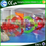 Hot sale colorful floating water pool ball walk on water plastic ball,walk on water ball for hire                                                                                                         Supplier's Choice